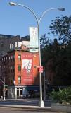 The Horse Billboard at LaGuardia Place