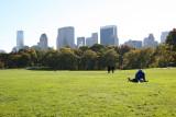 Sheep Meadow - Central Park South Skyline