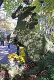 Stallion Topiary - Tavern on the Green Garden