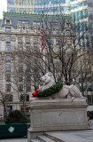 NYC Public Library at Fifth Avenue