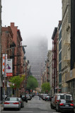 Misty Morning - Downtown View