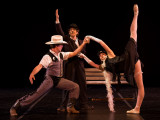 Tex, Chaplin and Natasha in the award-winning with Chaplin ballet