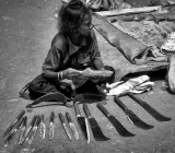 Knifes for preparation of the blood sacrifice to the goddess Kali