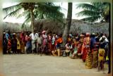 Village gathering, Juba region