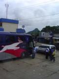The Honduras/El Salvador border