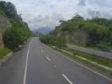 The roads in El Salvador are infinitely better than Honduras