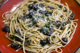 Linguine w/ Capers, Olives & Anchovies