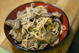 Beef & Noodles in Oyster Sauce
