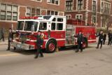 Worcester Firefighter Funeral Leiutenant Donald M. Quinlan