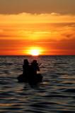 Sunset over Tonle Sap