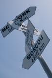 Indicateur à la pointe du Corsen, le point extrême de la côte bretonne