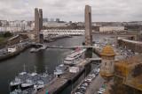Vue de Brest à partir de la forteresse