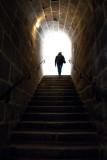 Silhouette dans le fort