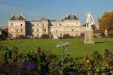 Diane dans les Jardins du Luxembourg