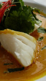tom yam sea bass