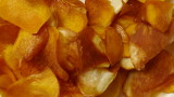 deep-fried camote chips