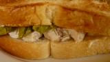 chicken asparagus sandwich