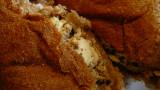 sardine & feta cheese on wheat pandesal
