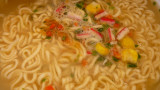 instant seafood noodles