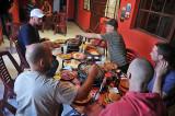 Lunch at the Extreme Fun Pub in Uyuni