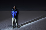 Danny on the Salar de Uyuni