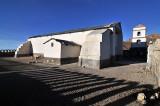 Iglesia San Juan Bautista in Tahua on the northern shore of the Salar de Uyuni.