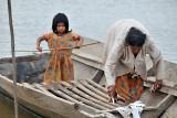 Chimani women on the river near San Lorenzo de Moxos