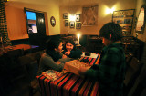 Games and Supper at La Oveja Negra