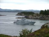 KV Garsoey -CoastGuard-at Rongesund-direction West