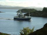 LMOV-Fishingboat named Kystfisk -SF 3 V-Rongesund -westward