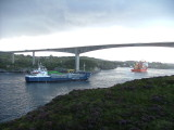 Normand Mermaid P 103 on search in Rongesund with submarine