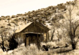 Toby's Cabin on the Turquoise Trail