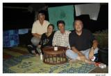 Avec Roger, Paul, Mouz chez les Akhas
