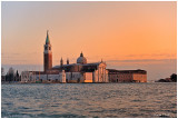 Sunset over San Giogio