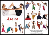 Photography of yoga and dance clothing for asana