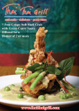 Food photography for Thai Thai Grill