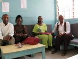 115 Mawa with three teacher friends in lounge at JFK.jpg