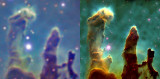 Pillars of Creation comparison