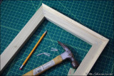 DIY: Stretching canvases