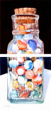 accepted into juried Colors of Autumn, marbles in a bottle   2 halves.psd