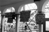 Boarding Platform Cautions