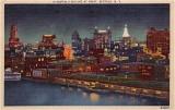 Buffalo Skyline At Night