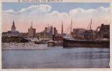 Harbor and Skyline