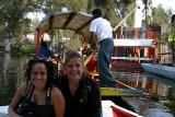 Mayte & Monica en Xochimilco