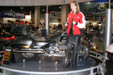 Emilio Scotto & the Black Princess - Motorcyle Show - Long Beach, California