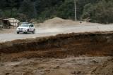 Las carreteras se encuentran rotas a lo largo de todo el país de Guatemala