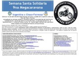 Semana Santa Solidaria 9na Megacaravana Argentina x Chaco-Formosa