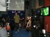 Live band at E-fun, Bangkok
