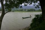 The Song river, Vang Vieng