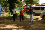 Petang (Jeu de boules) in Vientiane